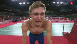Guld til @ViktorAxelsen - fuldkommen overlegent. Olympisk klasse. Verdensklasse. Hvor er det stort!