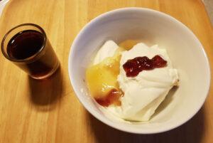 02.januar 2021: Den gode portvin og gammeldaws æblekage