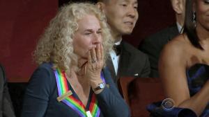 Carole King begejstret og rørt