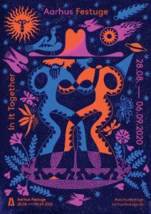 In It Together - festugen 2020 - Årets festugeplakat er af kunstneren Sophy Hollington