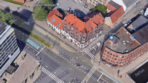 Jomsborg på Europaplads 6 er fra 1909
