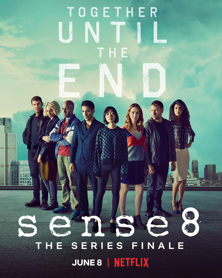 June 8th. Tell your cluster - Sense8 seriefinale på Netflix