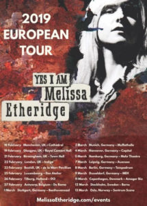 Melissa Etheridge tour 2019