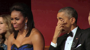 Obama rørt