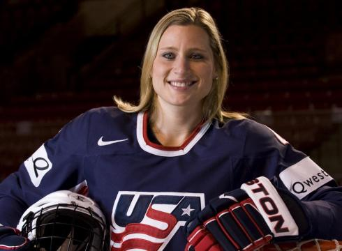 Angela Ruggiero - USA Hockey // Olympic Games: gold medal in 1998, silver medal in 2002 and 2010, bronze medal in 2006; World Championships: 4-time gold medallist, 7-time silver medallist