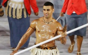 Pita Nikolas Taufatofua fra Tonga