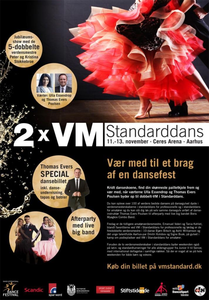11.-13. november: 2 x VM i Standarddans