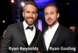 Ryan Reynolds og Ryan Gosling