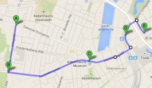 Copenhagen Pride rute 2013