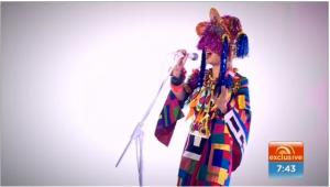 Sia live on Sunrise 743
