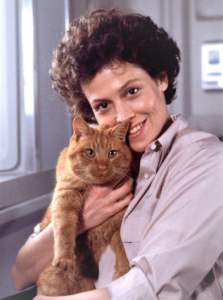 Sigourney Weaver og Jonesy