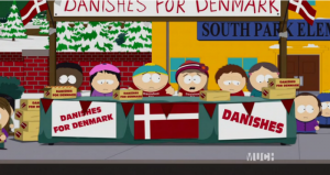 South Park S20E05 - A Douche and a Danish