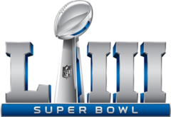 Super Bowl LIII - 03 feb, 2019 • Mercedes-Benz Stadium • Atlanta, Georgia
