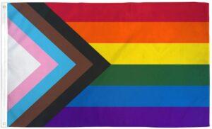 Quasars Progress Pride Flag