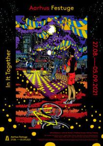 Prisvindende tegneserietegner Halfdan Pisket står bag Festugeplakaten 2021
