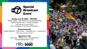 NYC Pride announces a star-studded television celebration will replace iconic parade