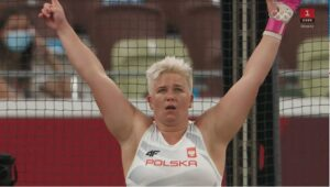Anita Wlodarczyk (Pol) vinder sin 3. OL guldmedalje med 78,48 - OL 2020