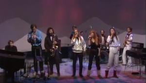 Anne Linnet Band - studieoptagelse fra 1981