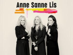 Sanne, Anne og Lis på tour i 2019