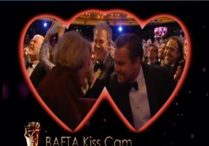 Bafta Kiss Cam! - Dame Maggie Smith og Leo ...