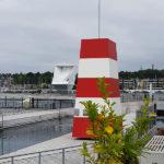Havnebadet er tegnet af den internationalt anerkendte danske arkitekt Bjarke Ingels og er blevet til takket være en donation på 40 millioner kroner fra Købmand Herman Sallings Fond.