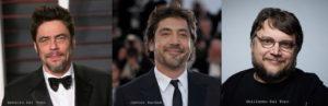 Benicio Del Toro//Javier Bardem//Guillermo del Toro