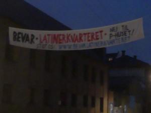 Banner i Paradisgade