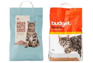 Budget moler ikke klumpende kattegrus
