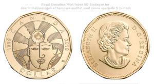 Royal Canadian Mint fejrer 50-årsdagen for dekriminaliseringen af homoseksualitet med denne specielle 2019 Pure Silver Coin
