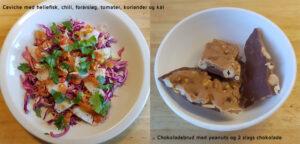 Ceviche og nøddebrud