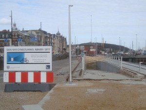 60 meter cykeltunnel under Sibirien - Sømandshjemmet bliver revet ned!