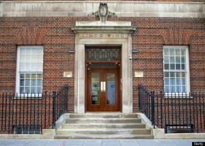The Lindo Wing at St Mary's Hospital in Paddington, London