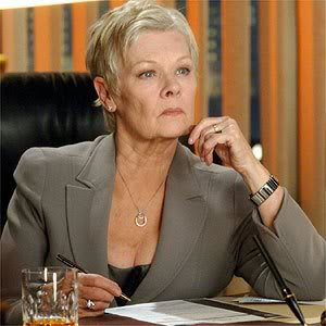 Dame Judy Dench - 85 år //  // Dame Judi Dench as M - James Bond 007 - Casino Royale // Copyright Gaumont Columbia Tristar Films 2006