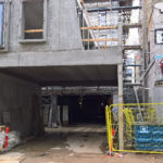 ' Igennem karréen etableres der endvidere en sti til offentlig brug, så Borggade og Paradisgade forbindes via de grønne byrum'
