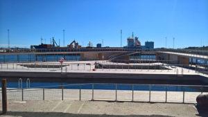 Havnebadet er tegnet af arkitektfirmaet BIG - Købmand Herman Sallings Fond har givet 40 mio. kr.