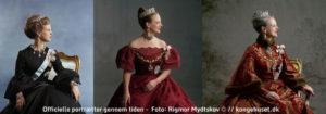 Officielle portrætter gennem tiden - Foto: Rigmor Mydtskov © // kongehuset.dk