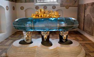 Dronningens gravmæle // Foto: Keld Navntoft, Kongehuset
