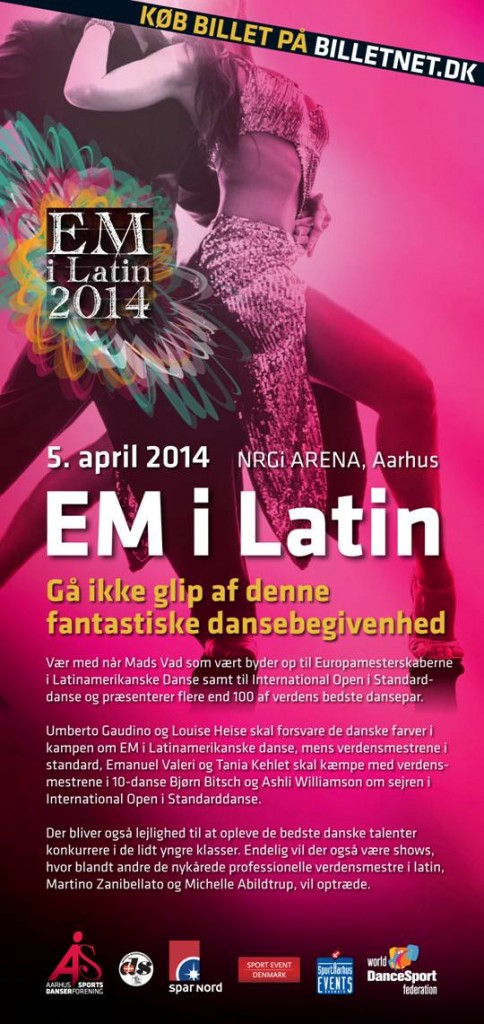 EM i Latin Lørdag den 05.april