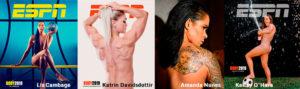 espn_body_issue_2019 - Liz Cambage - Katrin Davidsdottir - Amanda Nunes - Kelley O'Hara