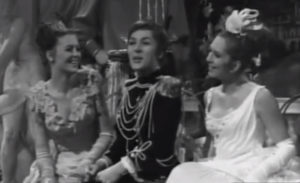 Susse Wold som Prins Orlofsky i Flagermusen 1968