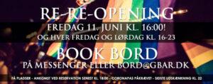 GBar re-re-opening weekend