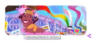 Google markerer afslutningen af Pride Month 2020 i dag (30. juni), med en Google Doodle, der fejrer  Marsha P. Johnson