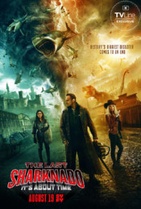 Nummer 6: The Last Sharknado: It's About Time