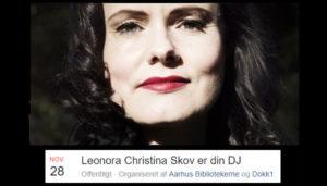 Leonora Christina Skov er din DJ påDokk1kl.16.30