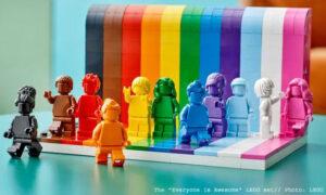 lego-everyone-is-awesome-pride-set // LEGO set designer Matthew Ashton