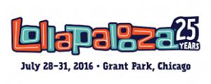 Lollapalooza har 25 års jubilæum og afvikles i år over 4 dage i Chicago's Grant Park fra den 28. – 31.juli
