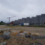 Det bygges tæt langs P. Hiort-Lorenzens Vej