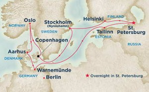 Krydstogt fra København - Regal Princess