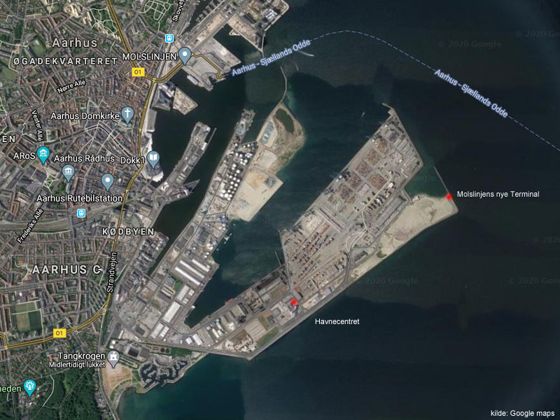 Østhavnen googlemaps
