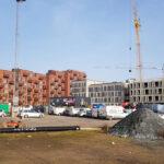 Byggeri på Godsbanen og P. Hiort-Lorenzens Vej